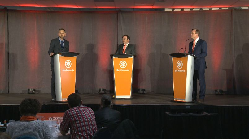 Saskatchewan NDP Leadership Candidates debate.