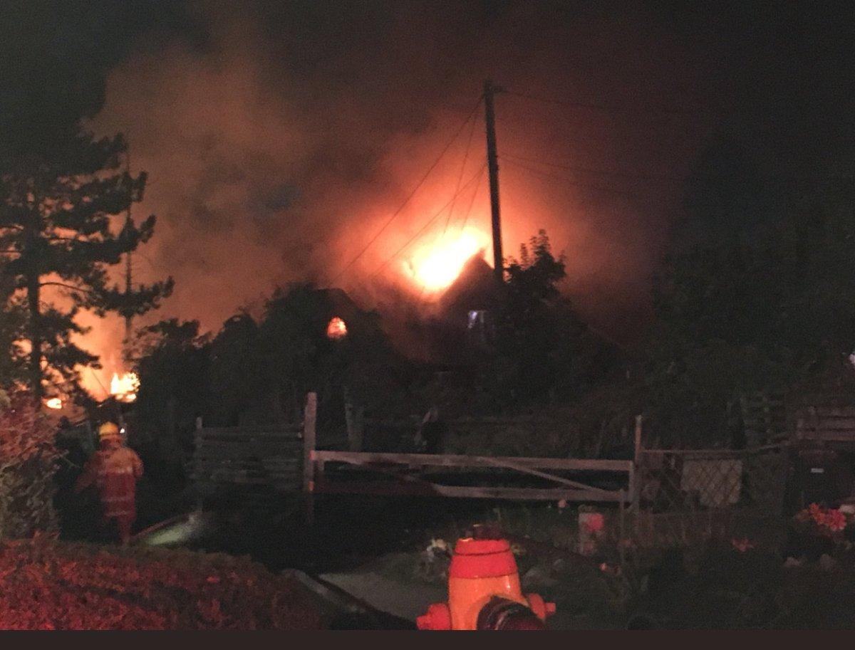 Elderly Okanagan woman believed to have died in fire - image