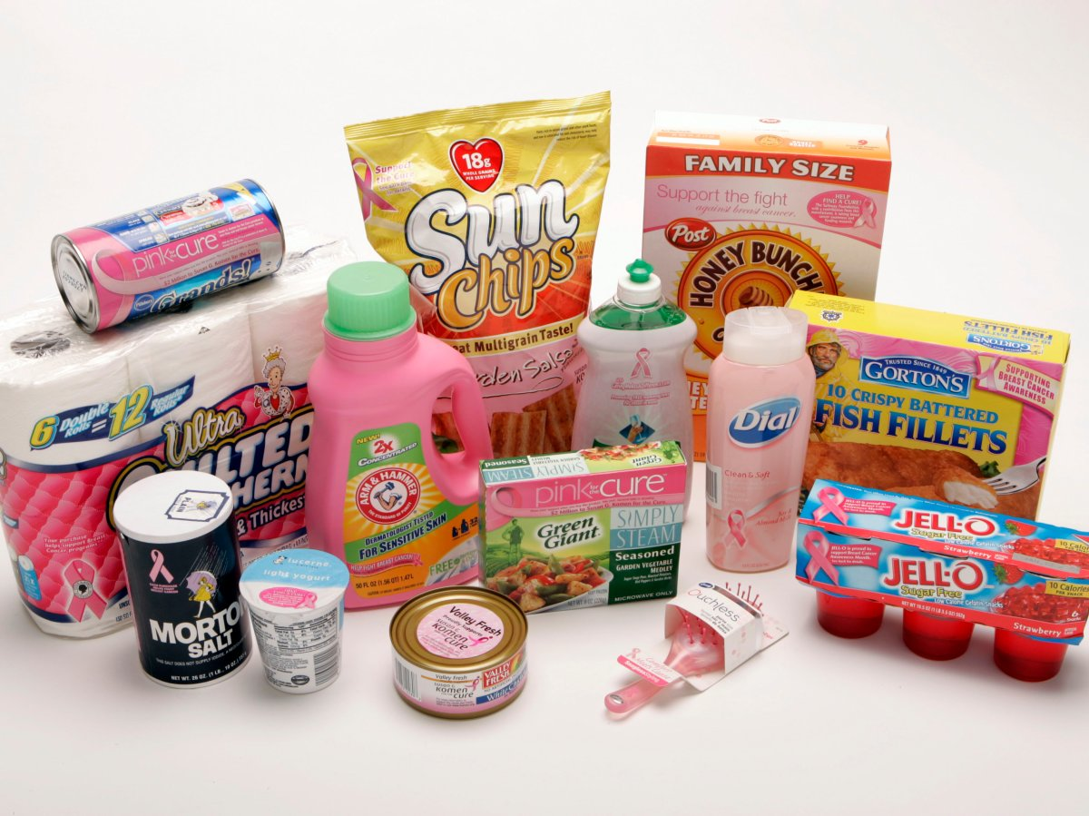 Consumers need to take it upon themselves to research the claims behind pinkwashed products.