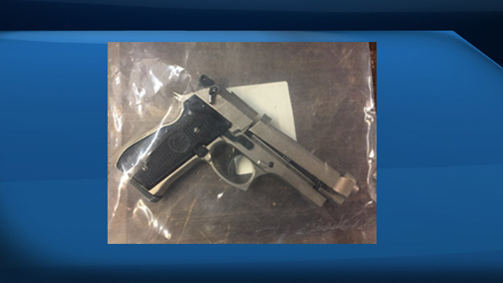 Officers seized meth, bear spray and an airsoft pistol after a report of a fight in Prince Albert.