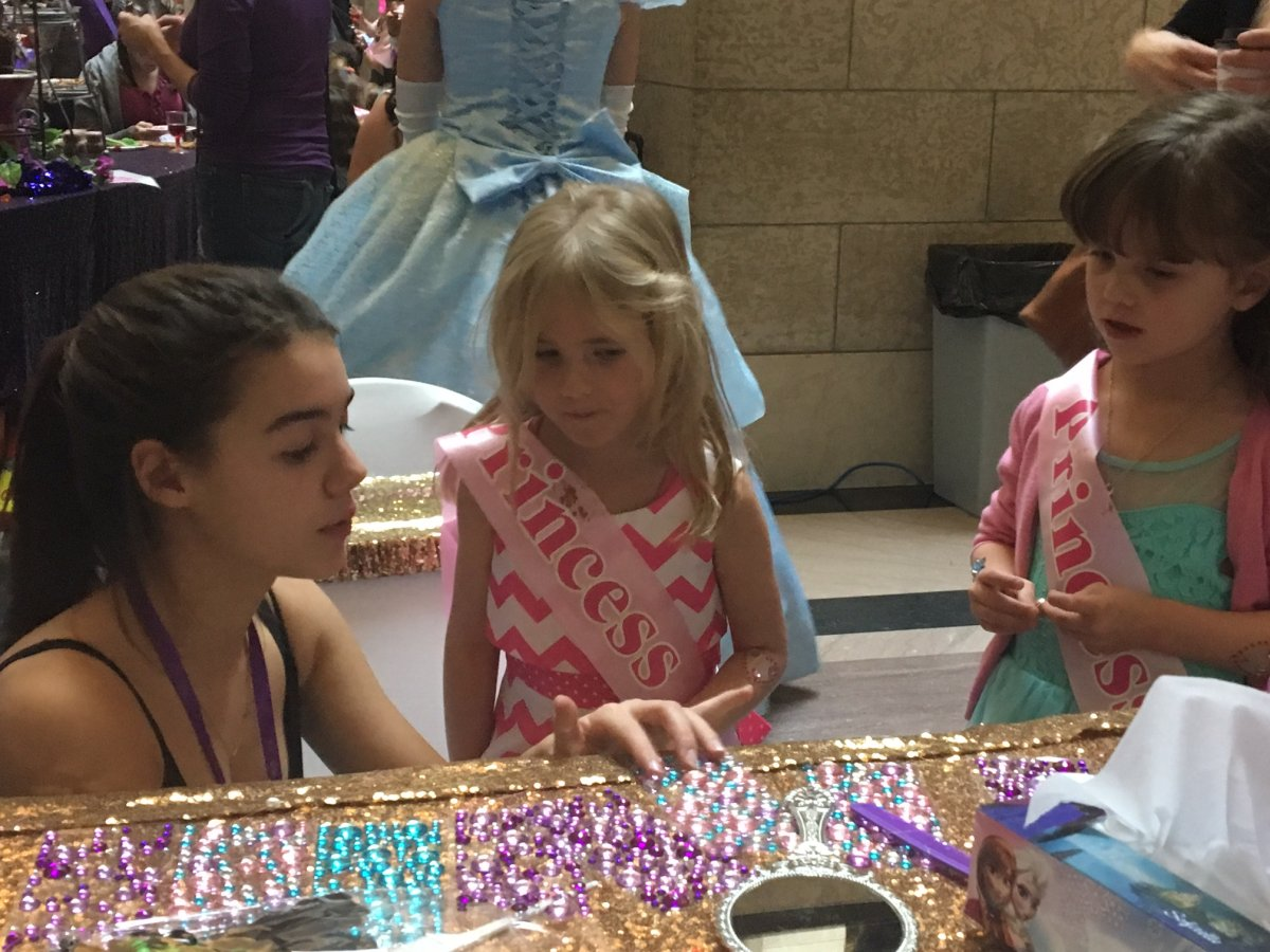 Princess for a Day event in Winnipeg.