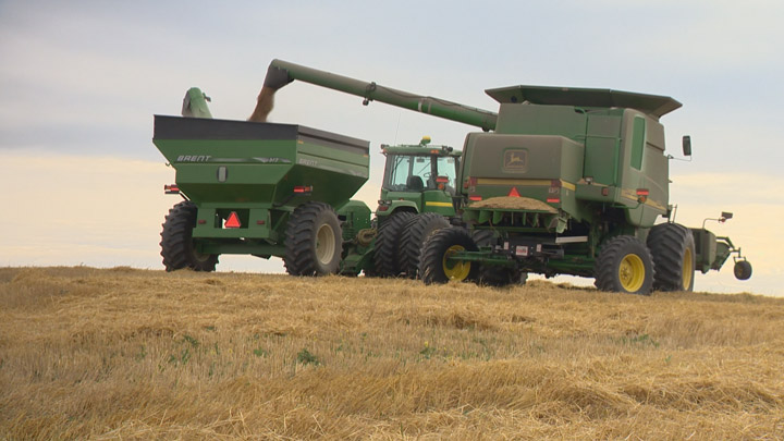 Just six per cent of the crop is left to harvest according to the latest report from Saskatchewan Agriculture.