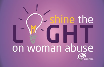 Shine the Light on Woman Abuse campaign runs through the month of November.