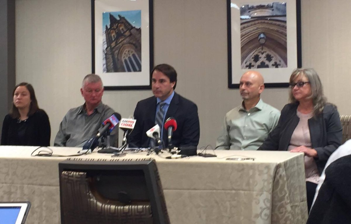The families of Joel Verge and Brandon Taylor launch negligence lawsuit against St. Joseph's Health system.