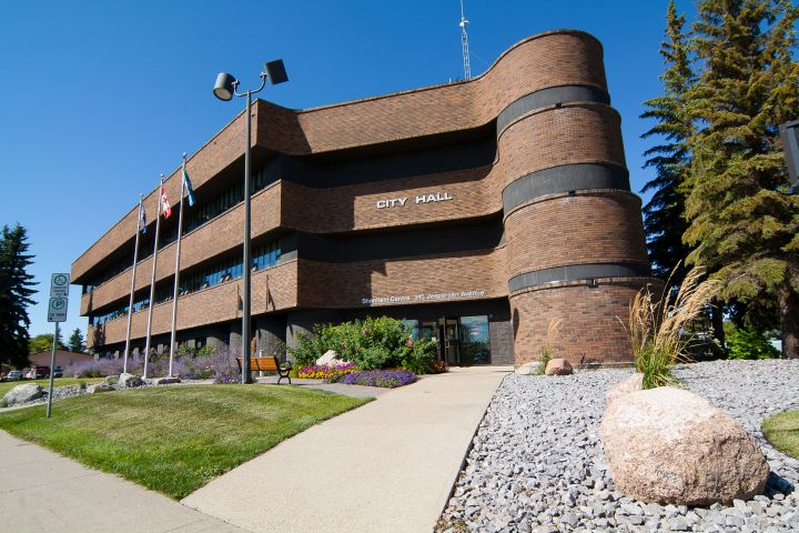 A file photo of Spruce Grove City Hall.