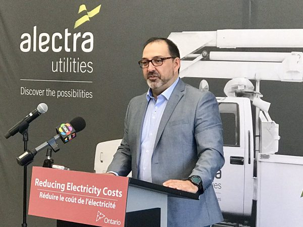 """Energy Minister Glenn Thibeault says affordability fund, helping people save money through home retrofits, is """"the right thing to do."""" ."""