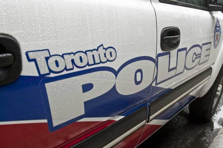 Toronto police cruiser.