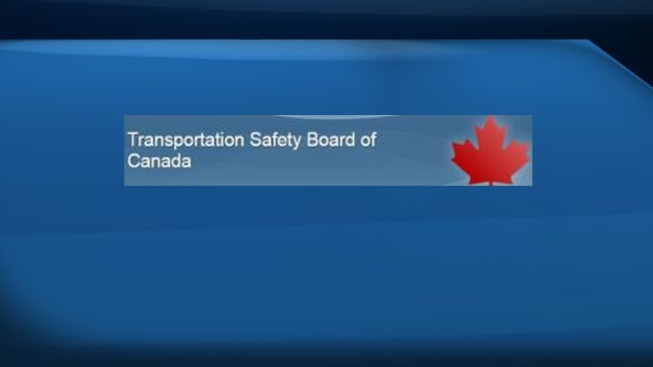 The Transportation Safety Board of Canada is an independent agency that advances transportation safety by investigating occurrences in the marine, pipeline, rail and air modes of transportation.