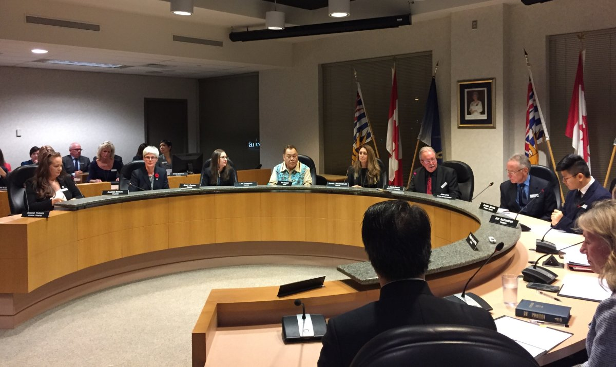 The newly elected Vancouver School Board held its first official meeting Monday night.