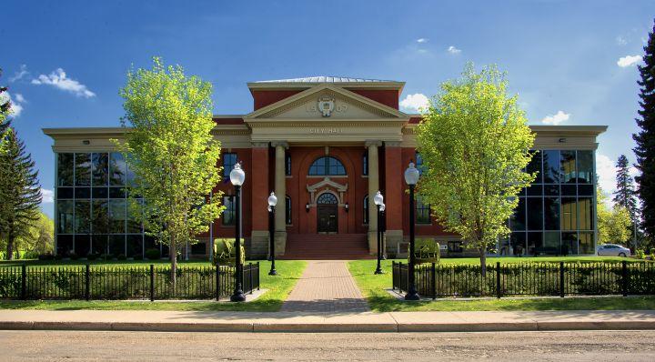 Wetaskiwin City Hall in 2017.