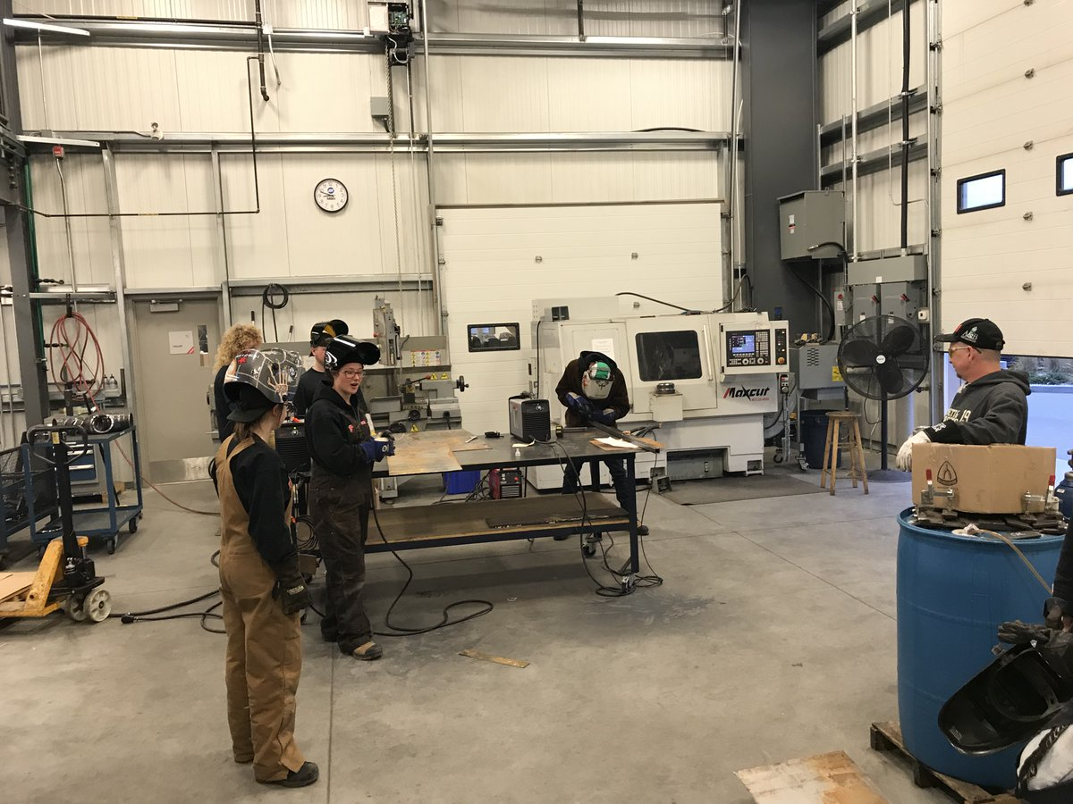 Students compete in the CLAC's Wicked Welding Competition, Saturday, Oct. 28, 2017.