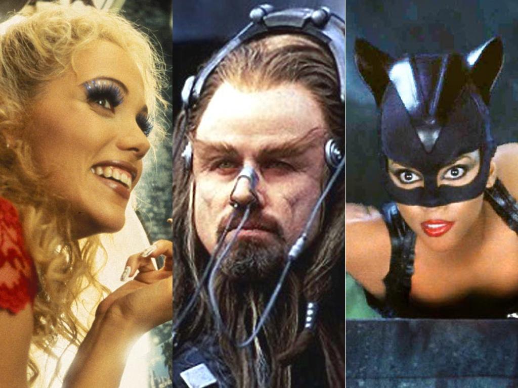 Showgirls, Battlefield Earth, Catwoman