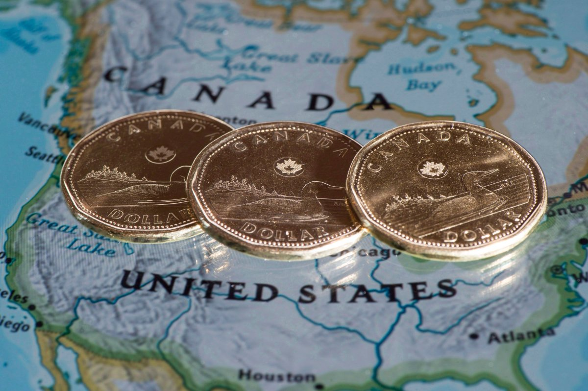 Production issues in the oil sands and the continued threat of more tariffs from the U.S. are among the reasons behind the weakness of the Canadian dollar.