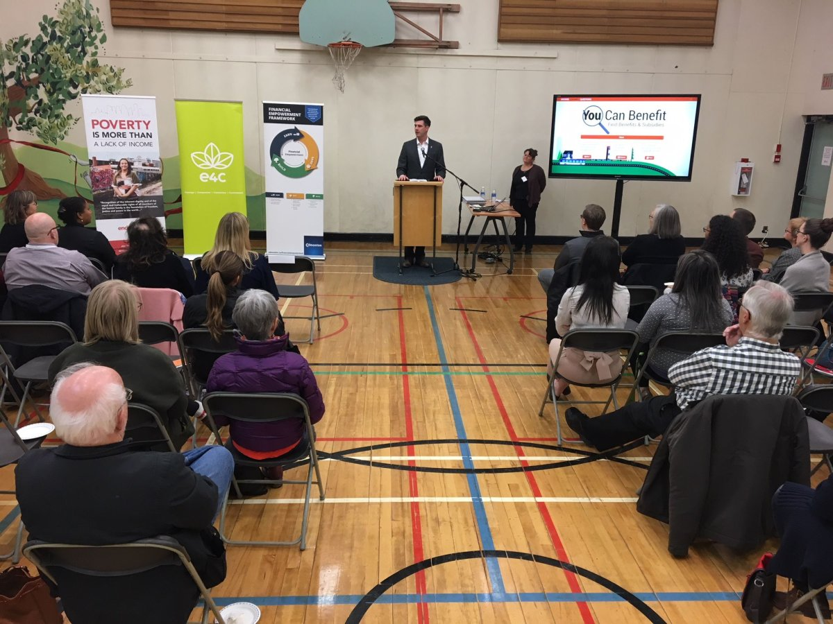 "City of Edmonton launches online tool ""You Can Benefit"" on Monday, Nov. 27, 2017."