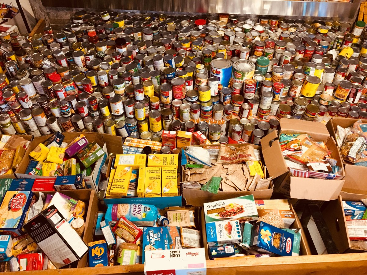 The Guelph Food Bank says it fell short of their 90,000 pound goal during the Thanksgiving food drive.