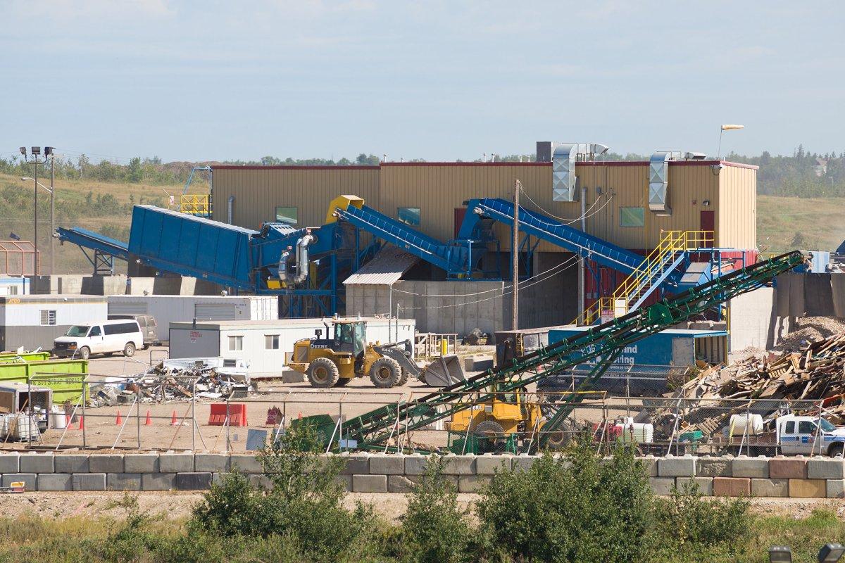 Edmonton Waste Management Centre.