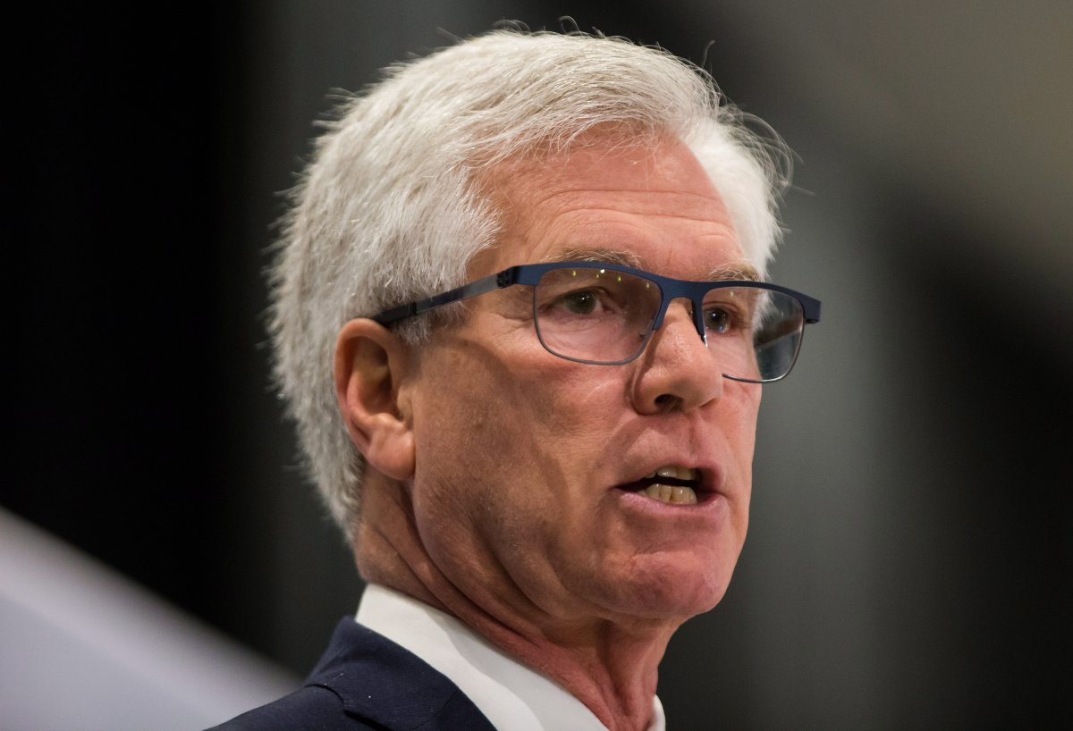 Federal Minister of Natural Resources Jim Carr released the Generation Energy report in Winnipeg on Thursday.