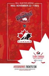 Continue reading: CAC Midget AAA vs Canadian Women's Olympic Hockey Team