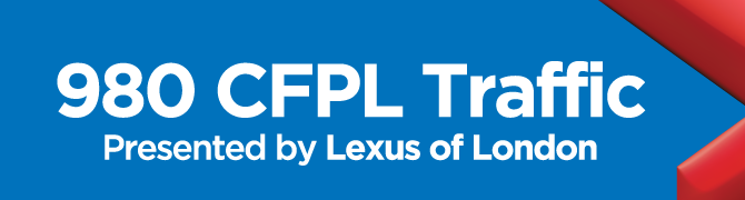 980 CFPL Traffic presented by Lexus of London