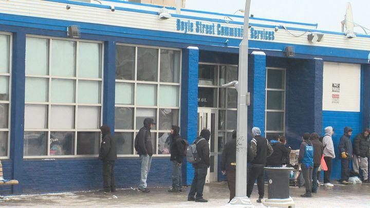 Boyle Street Community Services in Edmonton Friday, Nov. 3, 2017.
