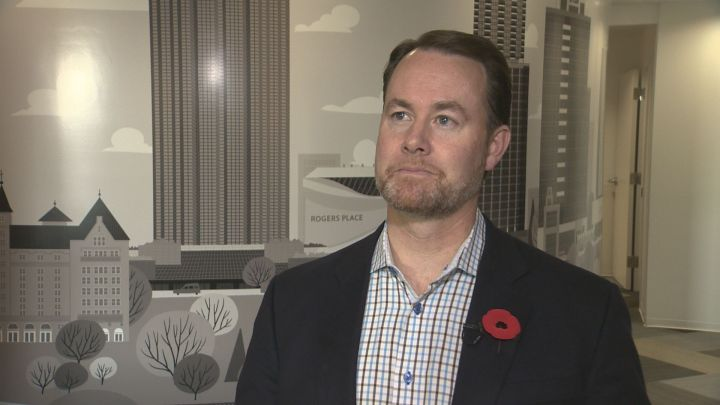 Brad Ferguson is stepping down as president and CEO of the Edmonton Economic Development Corporation effective March 2018.