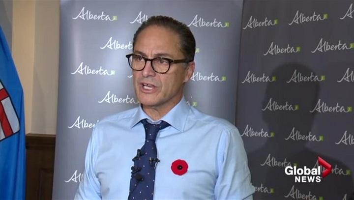 A 2017 file photo of Alberta Finance Minister Joe Ceci.