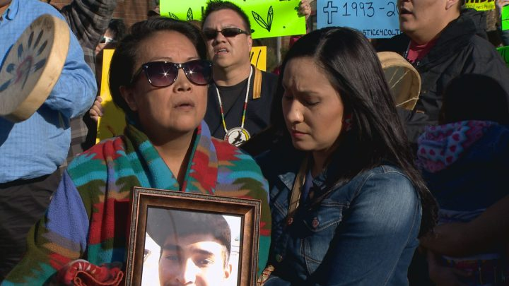 Colten Boushie family upset after report clears officers of misconduct in how the family was treated following his shooting death.