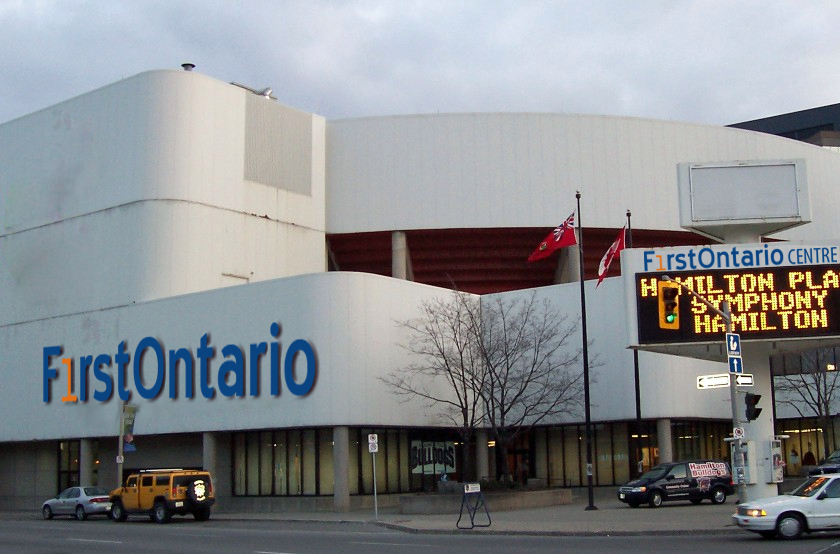 FirstOntario centre opened Nov. 30, 1985 as Copps Coliseum as an attempt to bring an NHL team to Hamilton.