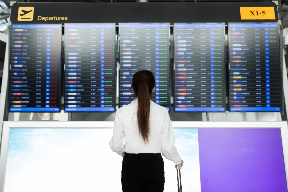 Make sure to have a back up plan in place just in case your flight is delayed our cancelled, experts say.