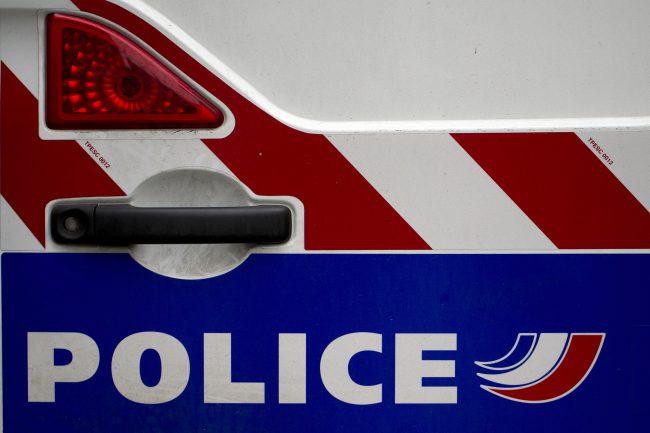 File photo of a Paris police van.