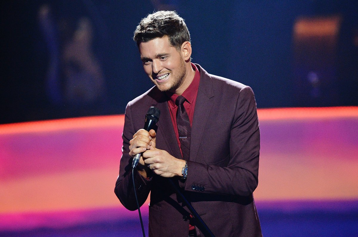 Michael Buble performs during the Apple Music Festival at The Roundhouse on September 28, 2016 in London, United Kingdom.