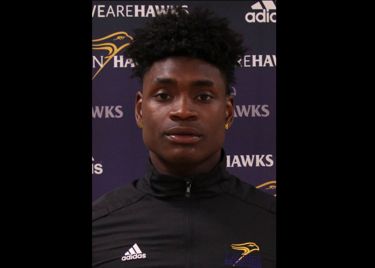 Laurier Golden Hawks receiver Kurleigh Gittens Jr. has been named MVP by Ontario University Athletics.