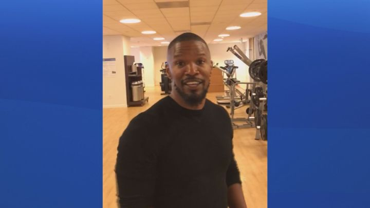 Hollywood actor Jamie Foxx recorded a video for Delivering Compassion YEG on Saturday, Nov. 11, 2017.