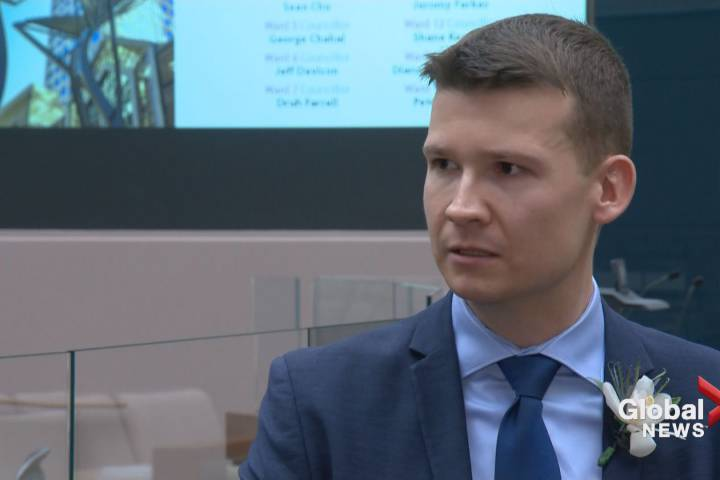 Ward 11 Coun. Jeromy Farkas has submitted a motion in Calgary city council that asks the city to formally support pipeline creation.