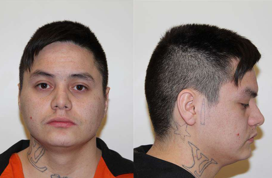 Lloyd Wesley Boudreau, 22, of Lac La Biche, Alta., is wanted for first degree murder in the death of 26-year-old Michael Mountain.