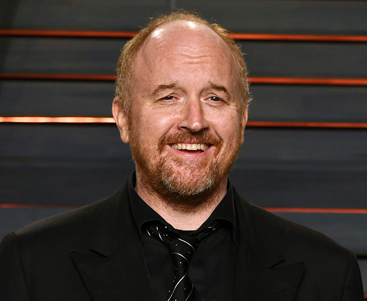 Comedian Louis C.K. pictured in Beverly Hills, California on Feb. 28, 2016.