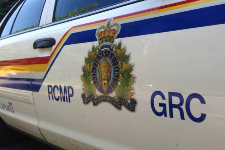 Surrey RCMP made an arrest near Earl Marriott Secondary.