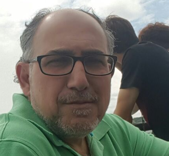 """Rajaie """"Roger"""" El Shorafa on a trip to Niagara Falls with his family in 2017."""