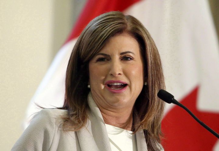 A file photo of Rona Ambrose from May 16, 2017.