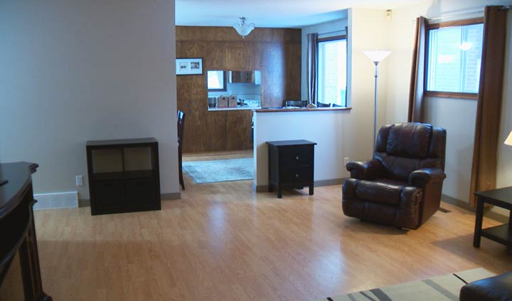 An example of a Saskatoon housing project that offers an affordable place to live for people who are unable to find or maintain secure housing without support services.