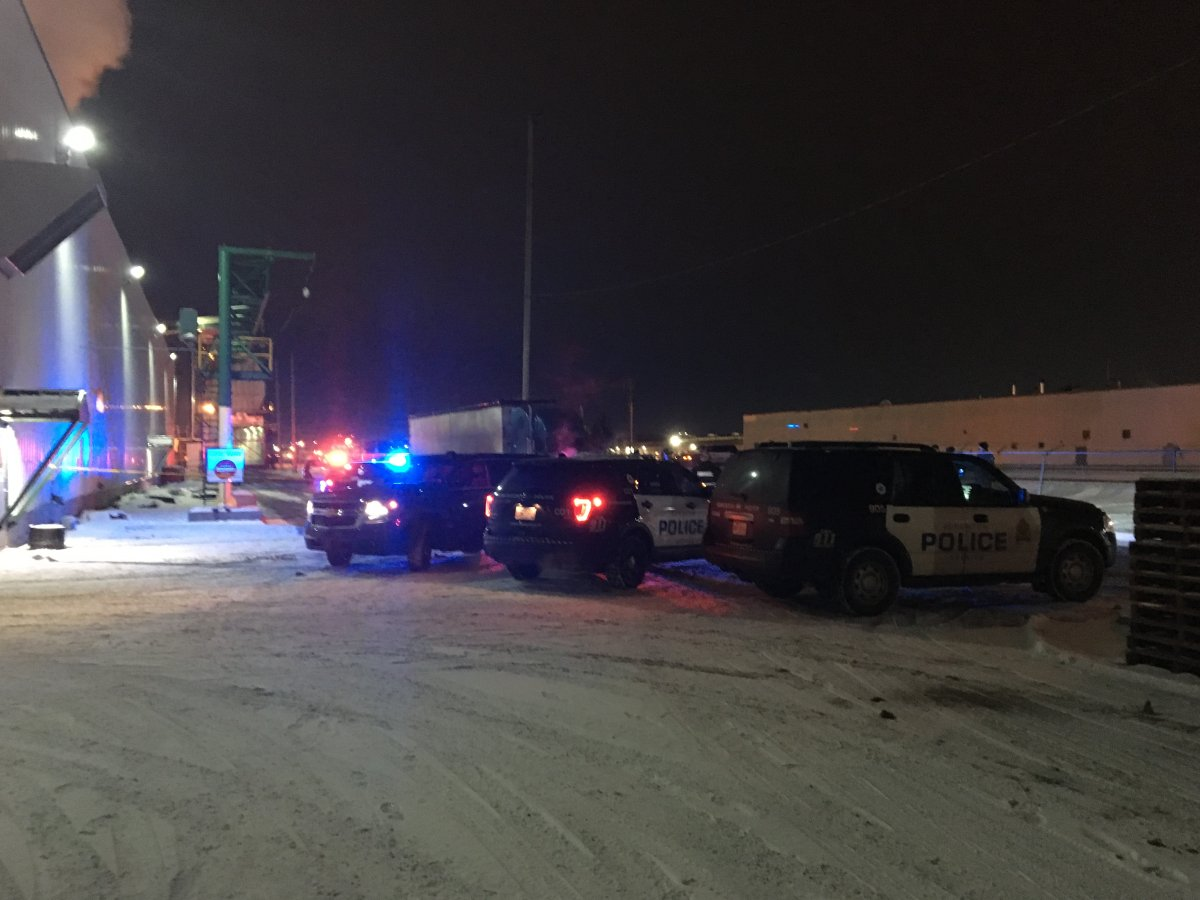 A man was found dead in south Edmonton Sunday evening. November 19, 2017.