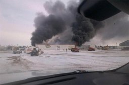 Continue reading: Structure fire in industrial area of Kindersley, Sask.