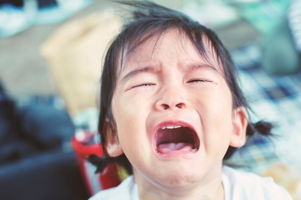 Don't try to talk to your child during a tantrum, they won't hear you, experts say.