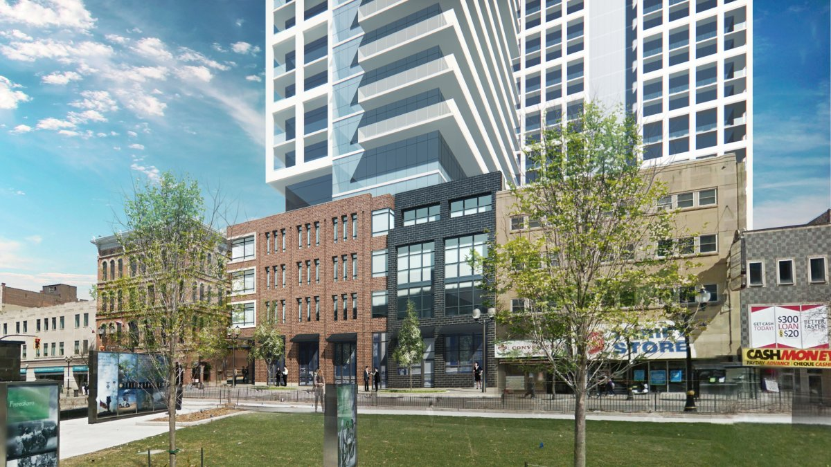 2017 was another record year for building permits in Hamilton. LIUNA's plan to build two resident towers in the core could be one of the big projects in 2018.