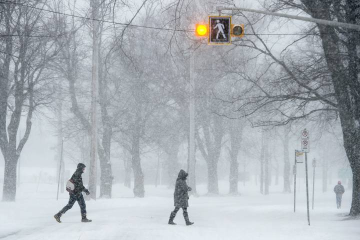 FILE- Environment Canada has issued a special weather statement for Nova Scotia and New Brunswick.
