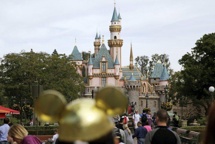 Jan. 22, 2015 file photo of Disneyland Resort in Anaheim, Calif.
