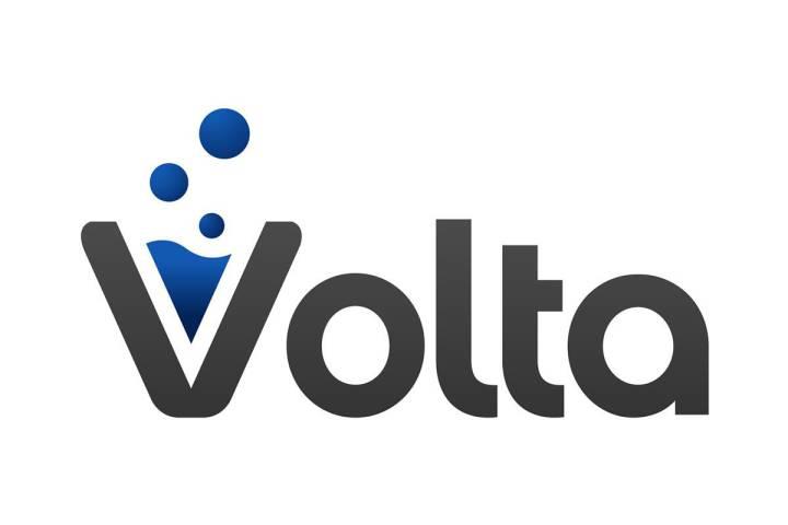 The Volta Labs logo .