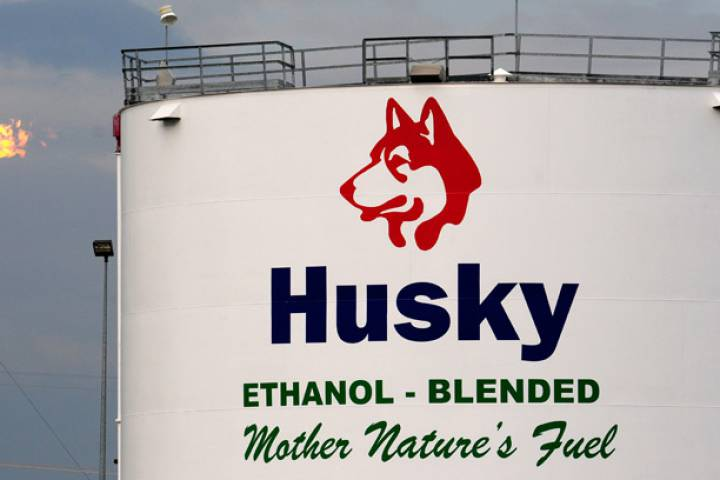 The Husky Energy upgrader facility in Lloydminster, Saskatchewan.