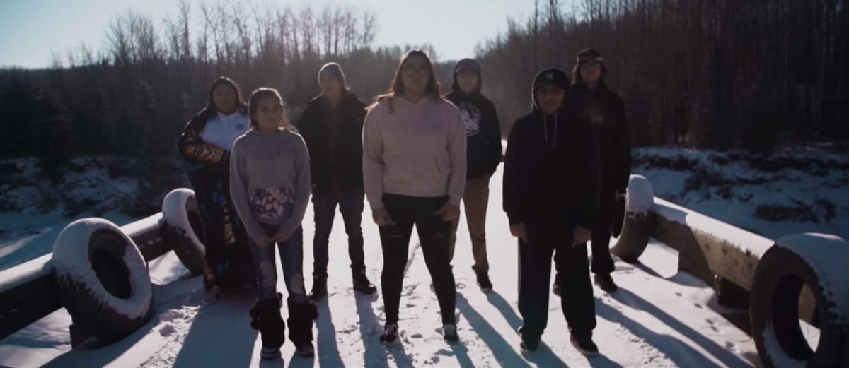 First Nations youth singing about life on the reservation in new video called, Where Happiness Dwells.