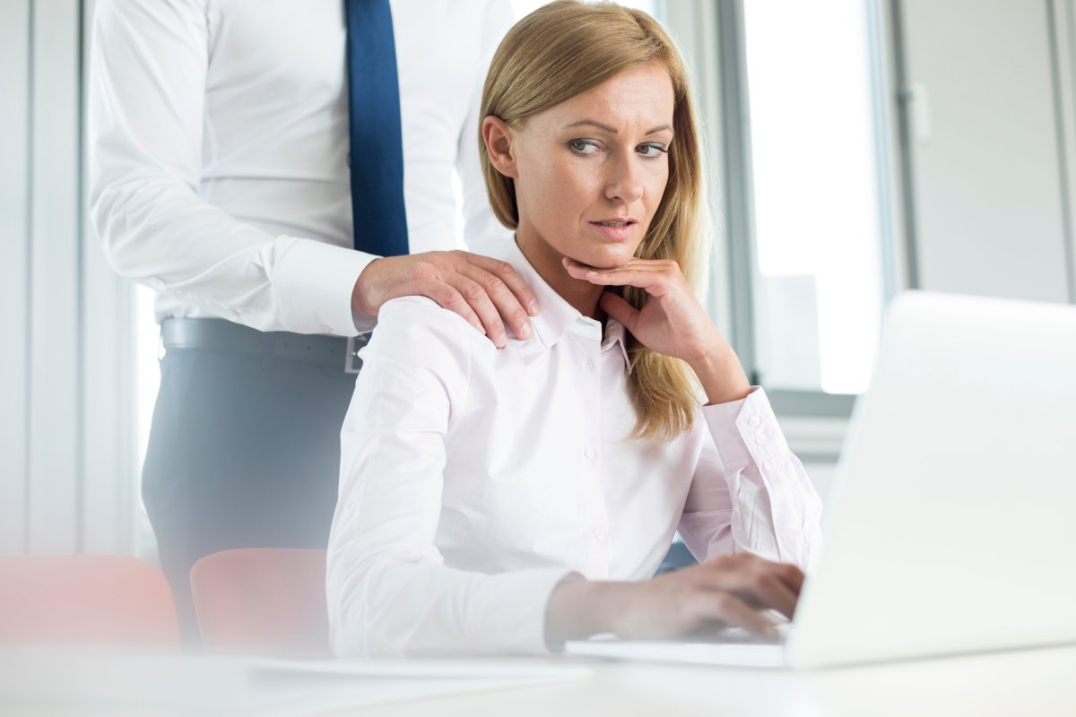 A new study suggests women are more likely than men to experience workplace harassment, and that it's more common in health-related fields.